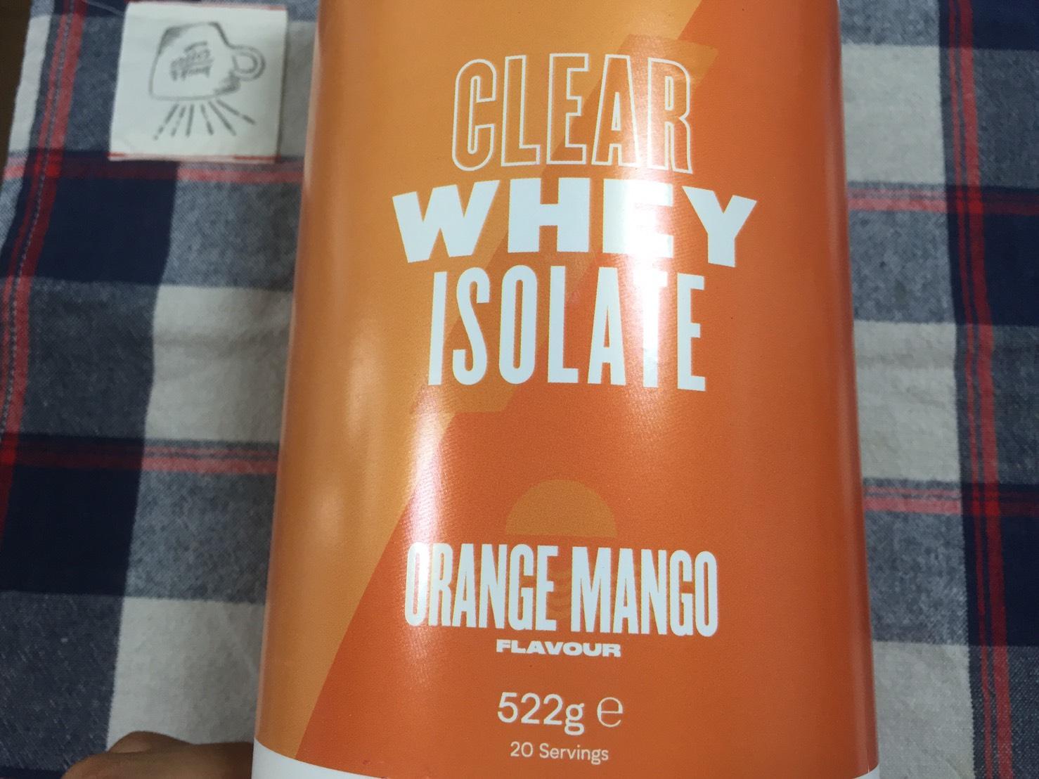オレンジマンゴー味(ORANGE MANGO)の成分表