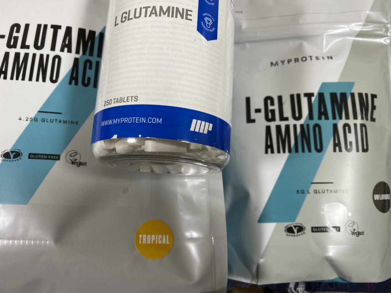 マイプロテインのグルタミン