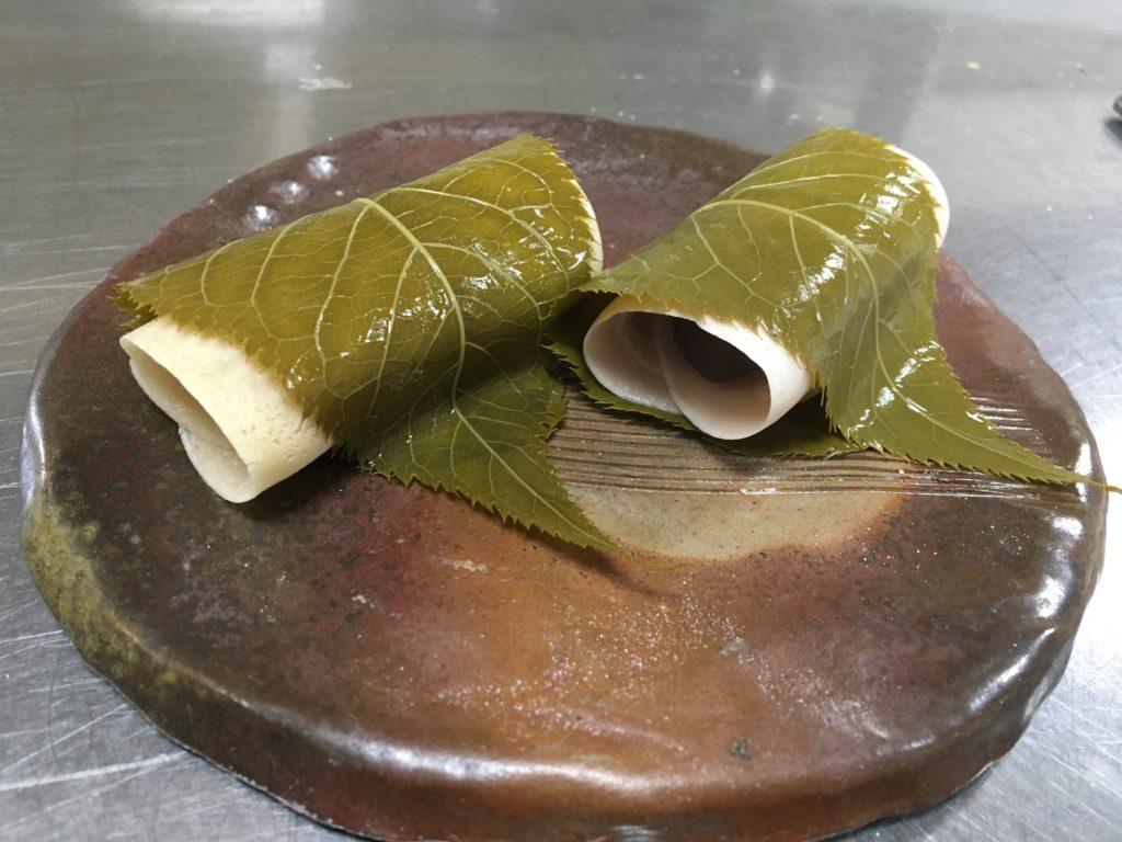 プロテイン桜餅