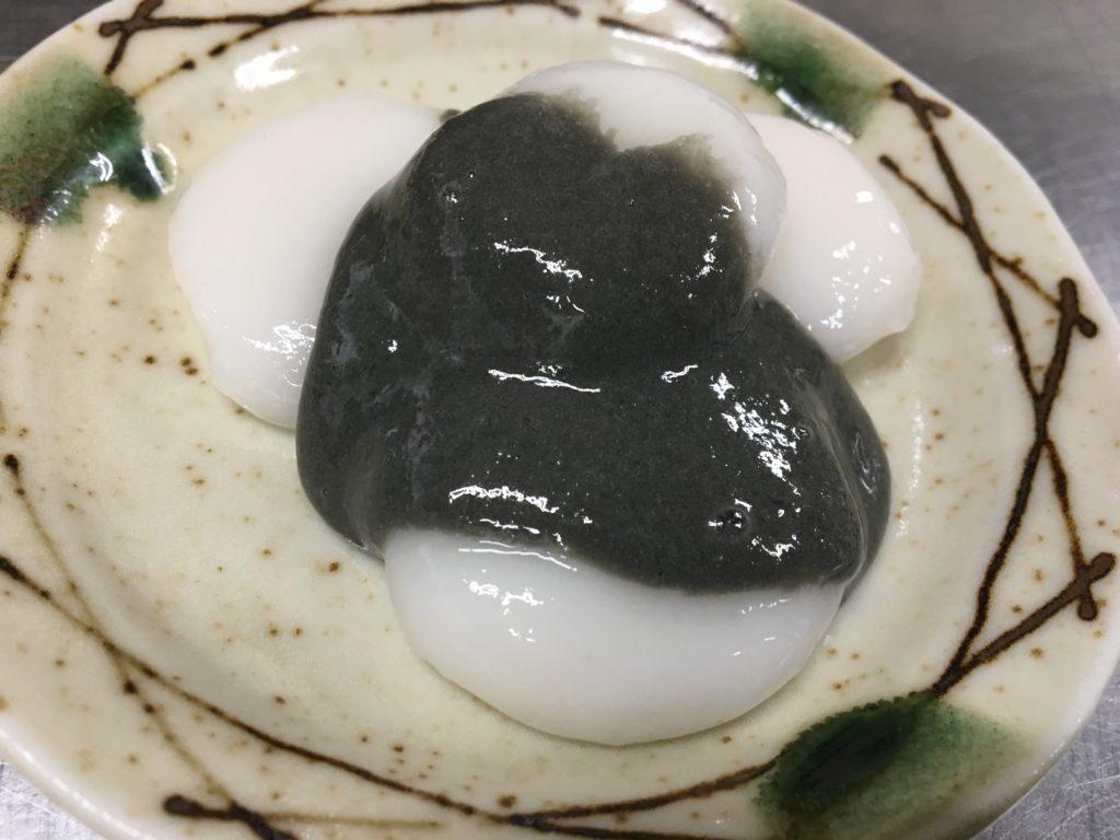 プロテインゴマ団子