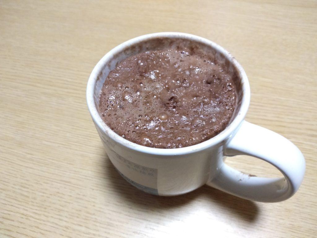 ナチュラルチョコレート味はスイーツ感があってい美味しい