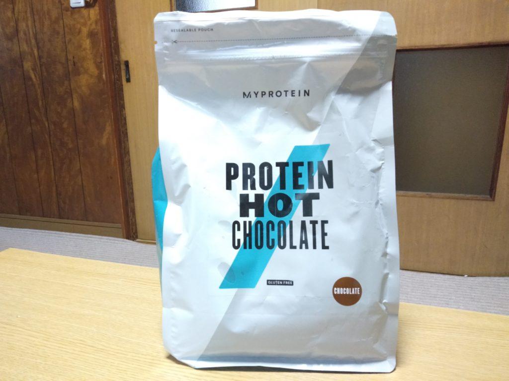 プロテイン ホット チョコレートの説明と原材料