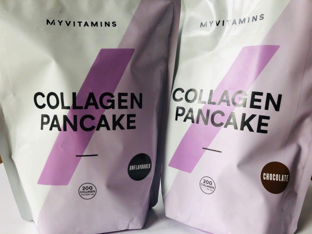 マイプロテイン:コラーゲンパンケーキミックス