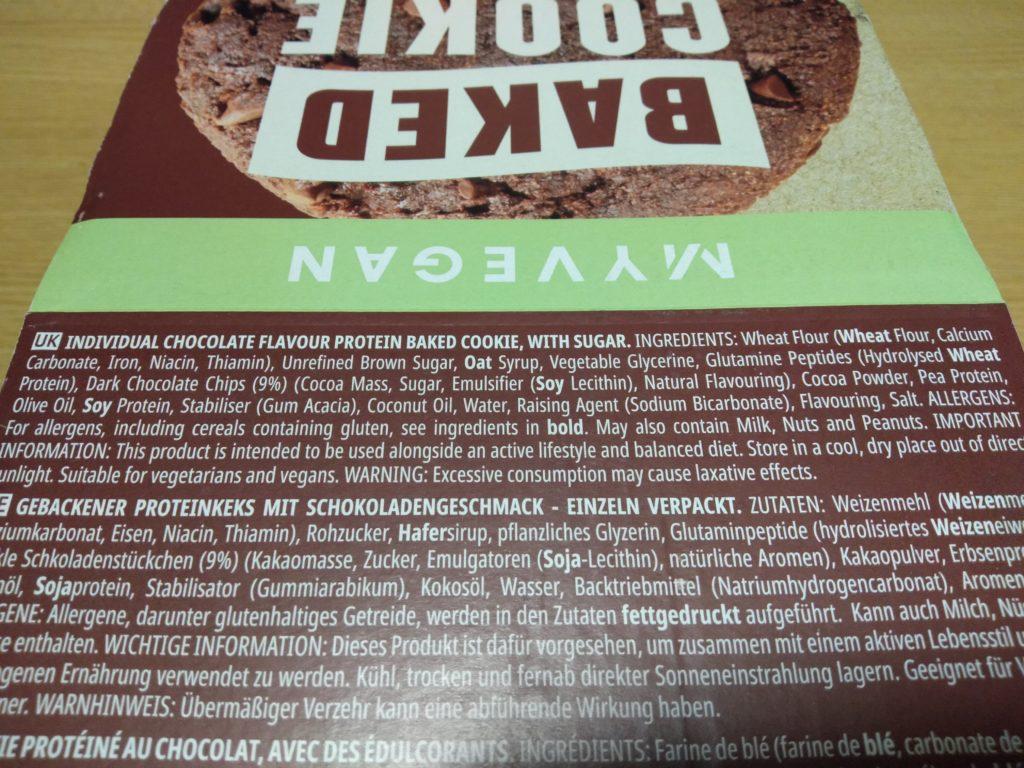 ダブルチョコレート味は、ココアパウダーが入っているおり、チョコ感を強めに出していることが伺えますね。