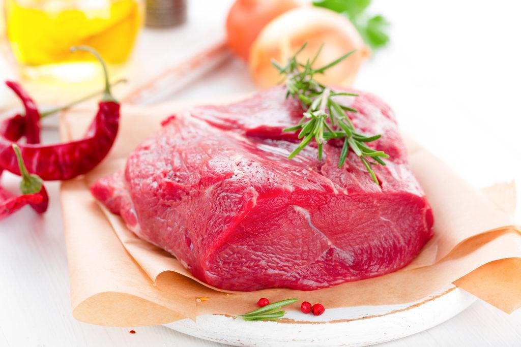 牛ヒレ:133kcal (タンパク質 20.5g・脂質 4.8g)