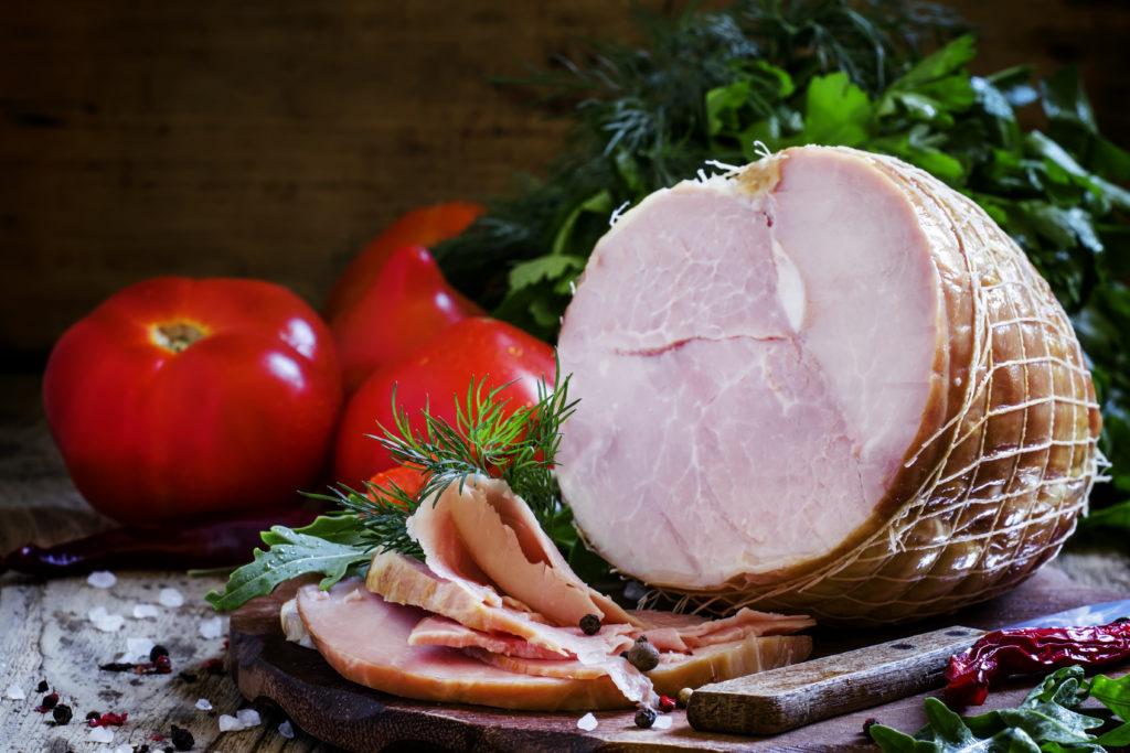 豚モモ:128kcal (タンパク質 22.1g・脂質 3.6g)