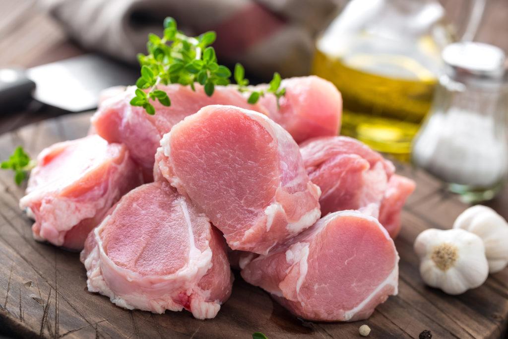 豚ヒレ:115kcal (タンパク質 22.8g・脂質 1.9g)
