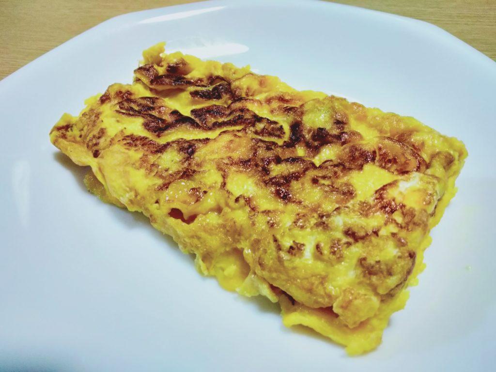 メープルシロップ入りの卵焼き