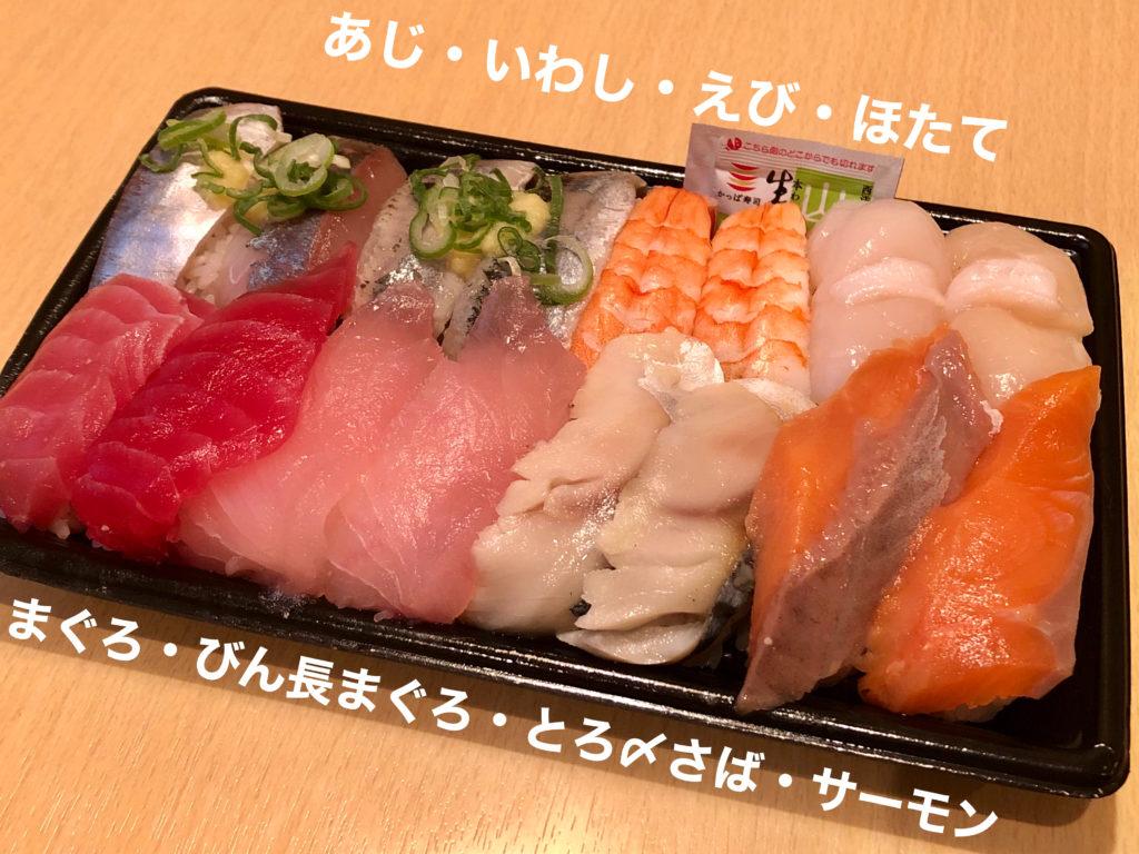回転寿司でタンパク質40g摂るにはどれくらい食べるべき?