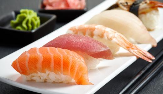 お寿司のカロリーは?タンパク質40gってどのくらい?トレーニーが回転寿司を有効活用する方法を紹介します!