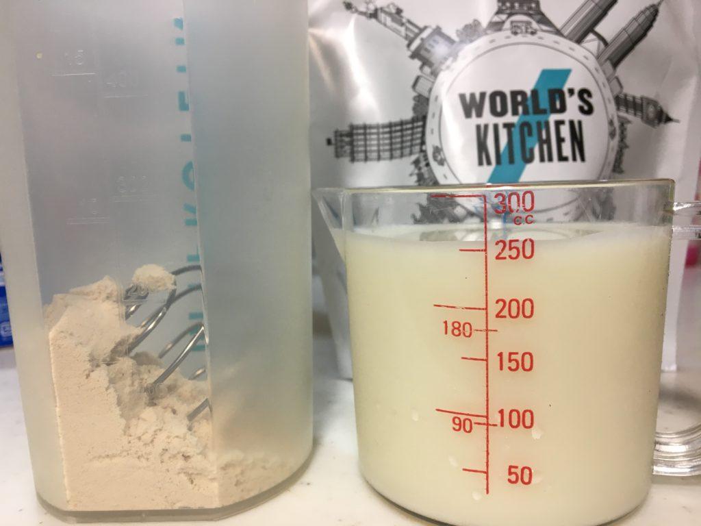 牛乳250mlで溶かすと、まさにイチゴミルクで美味しい!