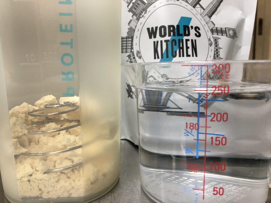 水250mlで溶かすと、ミルクセーキの味でした。