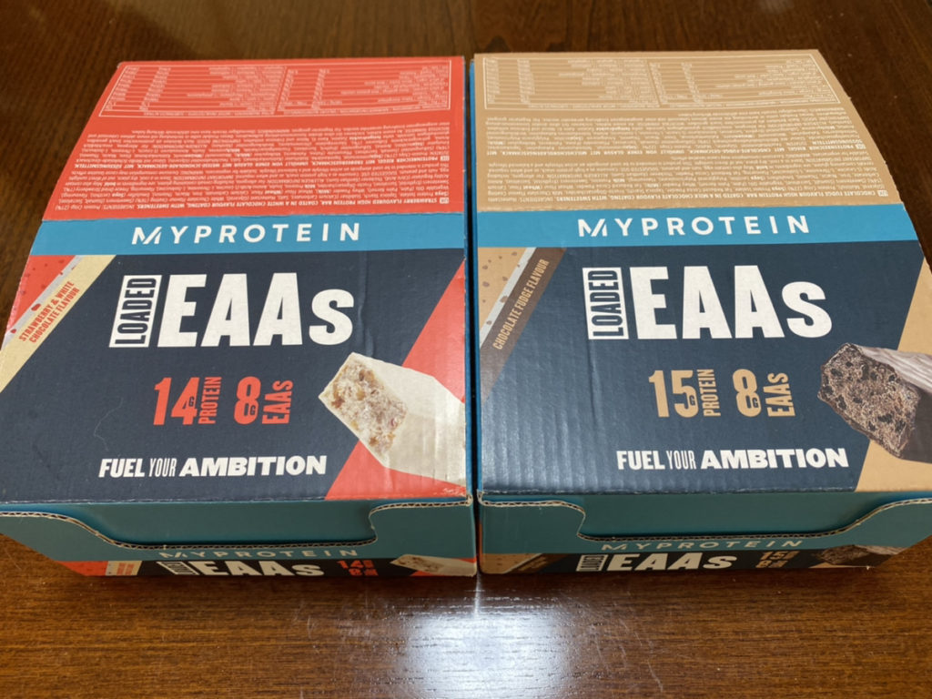 タンパク質と9つの必須アミノ酸を摂れ、プロテインバーの中でも味が良いです
