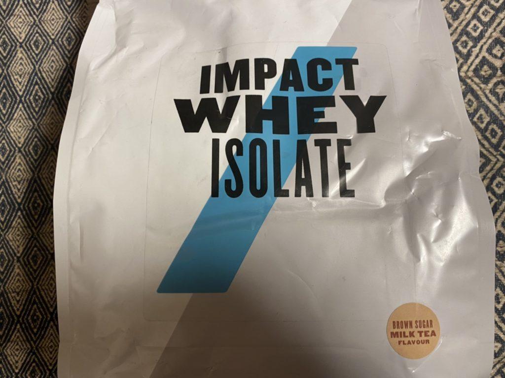 【WPI】Impactホエイアイソレート「黒糖ミルクティー味」