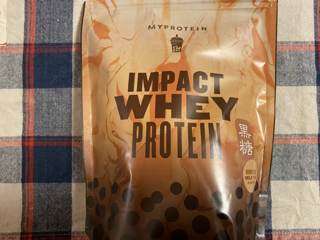 【WPI】Impactホエイプロテイン「黒糖ミルクティー味」