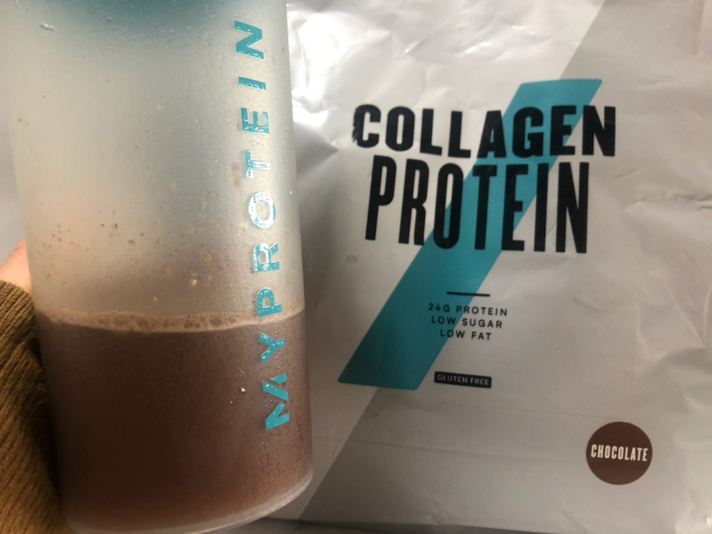 コラーゲンプロテイン:チョコレート味