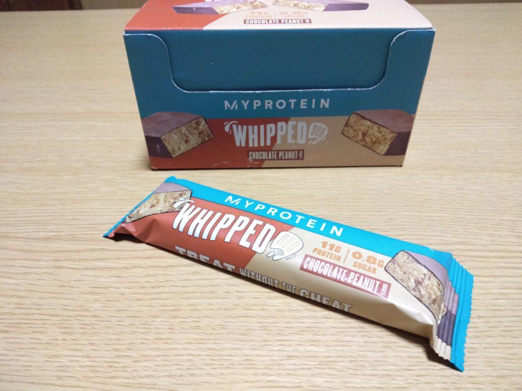 チョコレートピーナッツ味のレビュー