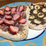 低脂質プロテインデザートナンのレシピ紹介。低脂質だから減量中でも食べられる!子供にも好評なレシピです